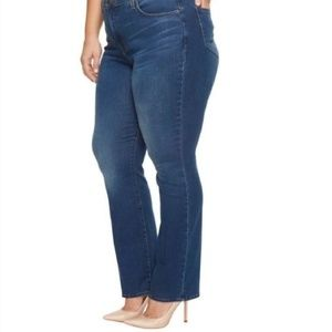 Not Your Daughters Jeans Marilyn straight leg